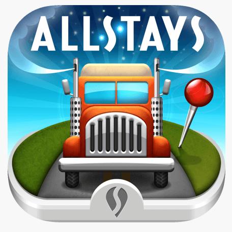 Allstays app logo